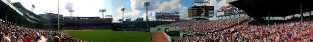 Wonky Panorama of The Fenway Park